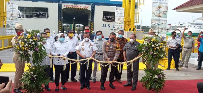 Peresmian Dermaga Dermaga IV Pelabuhan Merak